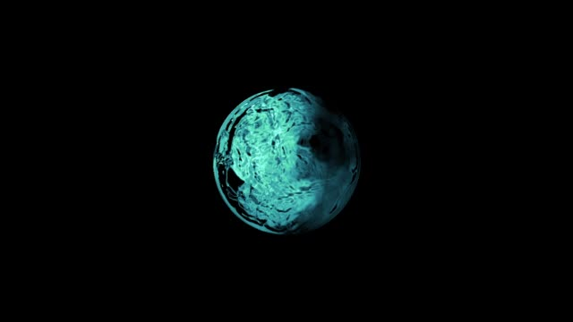 water ball - double refraction stock videos & royalty-free footage