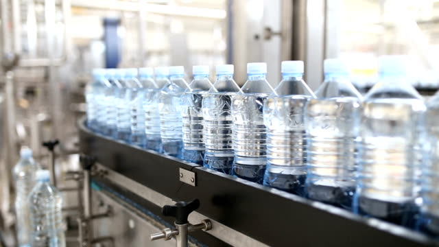water bottling factory - bottling plant stock videos & royalty-free footage