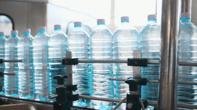 water bottling plant - mineral stock videos & royalty-free footage