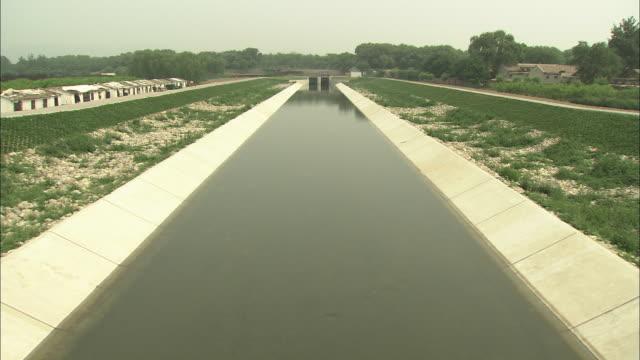 vidéos et rushes de ws ha water canal, beijing, china - canal eau vive