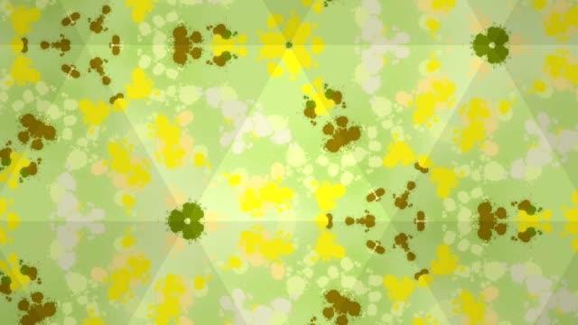 水の色の絵画, シュール抽象的なモーショングラフィックス - 水彩点の映像素材/bロール