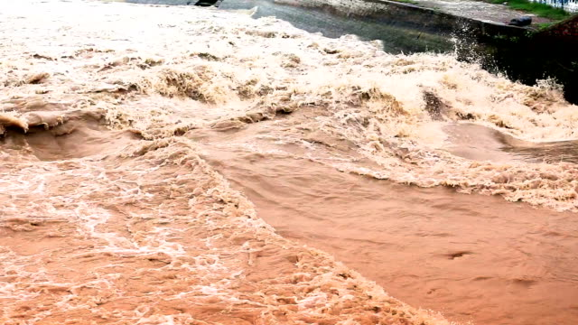 water dam - torrential rain stock videos & royalty-free footage