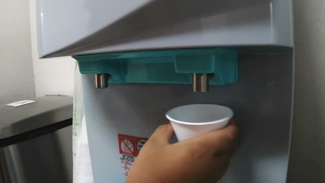 water dispenser - cooler container stock videos & royalty-free footage