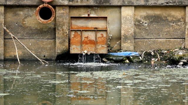 水ドレイン - 有害廃棄物点の映像素材/bロール