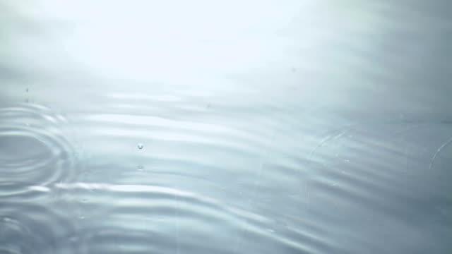 雨滴落ちる水 - brightly lit点の映像素材/bロール