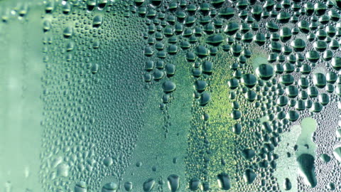 water drops on the glass. - condensation stock videos & royalty-free footage