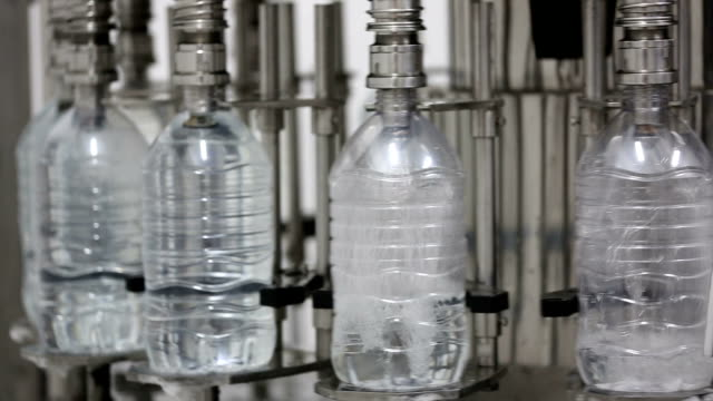 water factory - bottling plant stock videos and b-roll footage