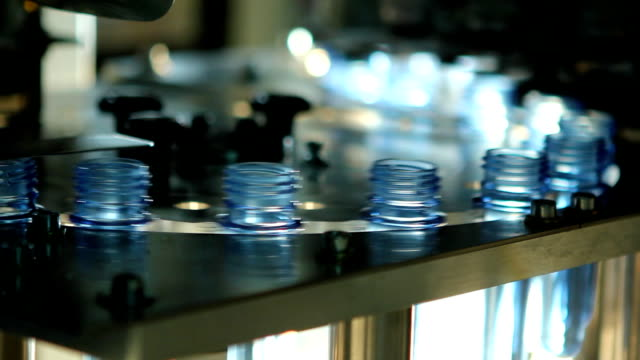 water factory (hd) - bottling plant stock videos and b-roll footage