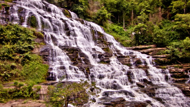 water fall - flowing water stock videos & royalty-free footage