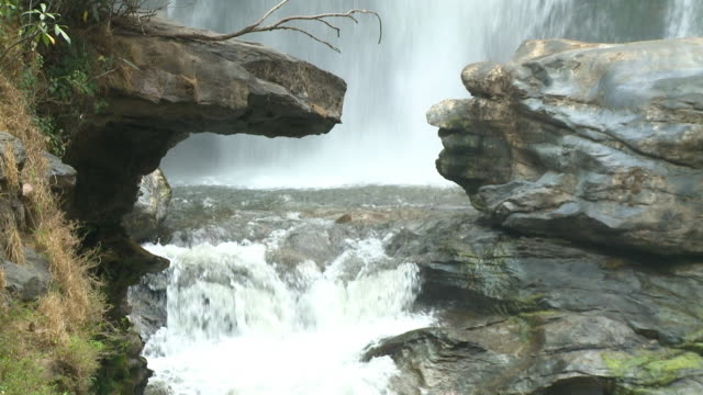 water finding its way through the rocks - stability stock videos & royalty-free footage