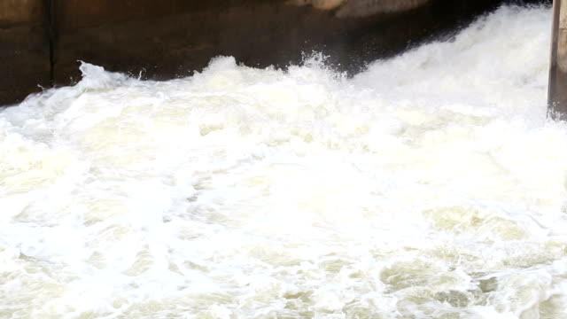 water flowing from a dam. - rapid stock videos & royalty-free footage