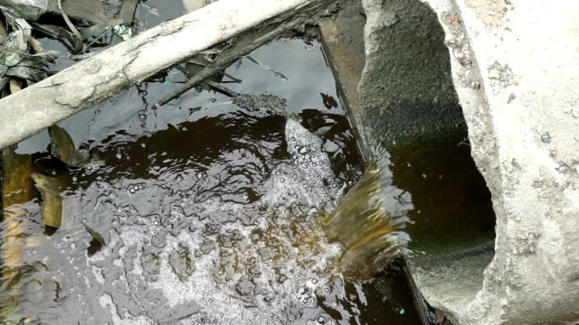 water flowing from gutter - drainage stock videos and b-roll footage