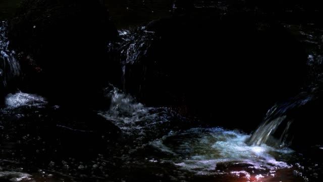 Eau qui coule dans la rivière Rocky