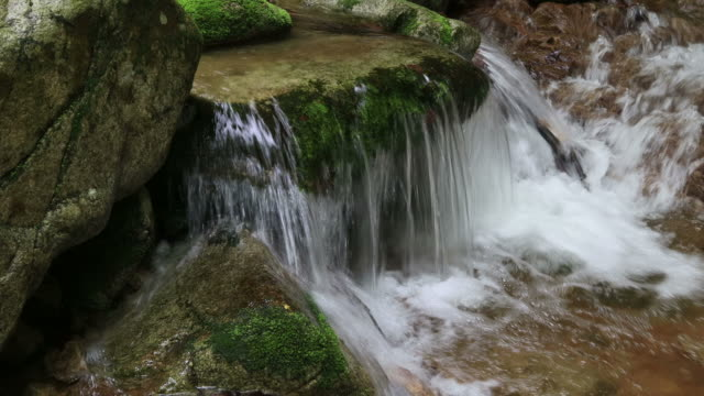 stockvideo's en b-roll-footage met water flowing through valley / hongcheon-gun, gangwon-do, south korea - duurzaam toerisme