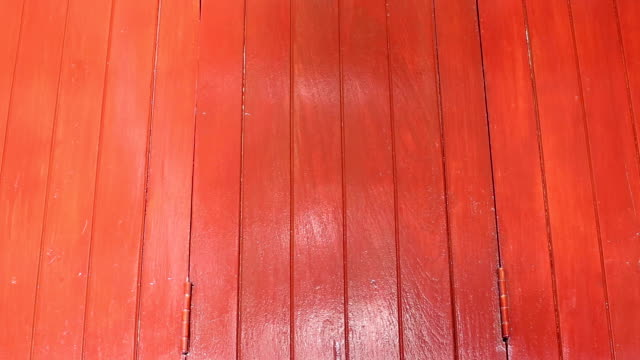 water from river reflection over old red wood door panel background - wood plate stock videos & royalty-free footage
