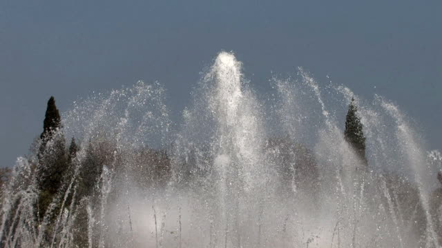 water jets fountain - belém brazil stock videos and b-roll footage