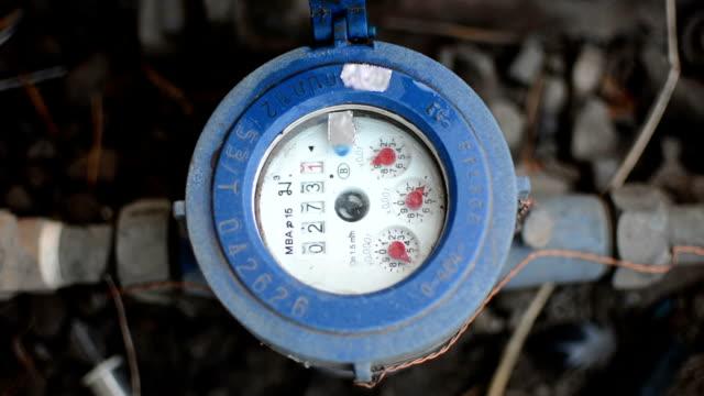 水の - 測定器点の映像素材/bロール