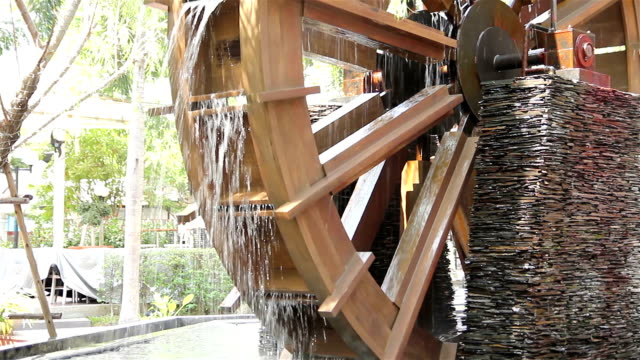 water mill - water wheel stock videos and b-roll footage