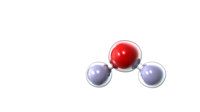 water molecule - atom stock videos & royalty-free footage