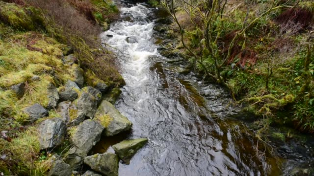 water of gregg in ayrshire. - david johnson stock videos & royalty-free footage