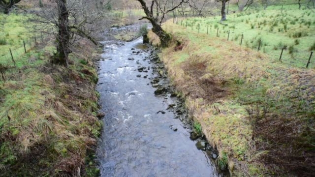 water of gregg passing close to barr village. - david johnson stock videos & royalty-free footage
