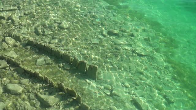 ms water of  lake thun near oberhofen  / oberhofen, bernese oberland, switzerlan - lake thun stock videos and b-roll footage