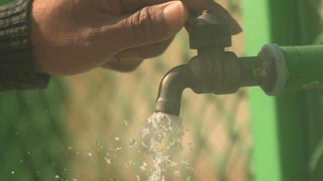 Wasser bereit, langsam