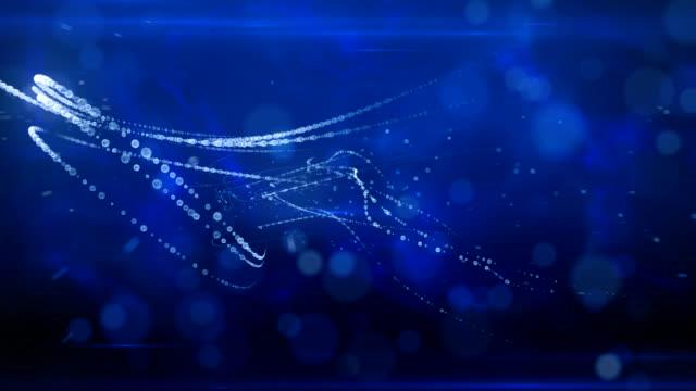 stockvideo's en b-roll-footage met water particles flow - parel juwelen