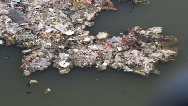vídeos de stock e filmes b-roll de water pollution in bangladesh - sem higiene