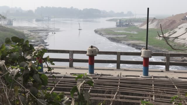 water pollution in the turag river has reached alarming levels millions of cubic meters of toxic waste from the thousands of industries and topped... - water pollution stock videos & royalty-free footage