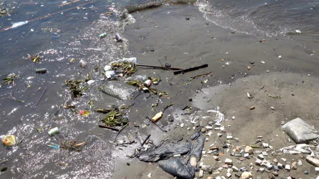 vídeos de stock e filmes b-roll de water pollution - desodorante
