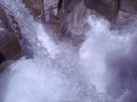 water pouring over rocks - soap sud stock videos & royalty-free footage
