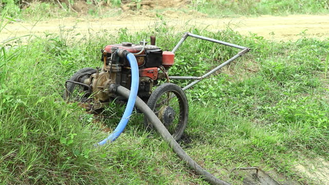 Water Pump Machine for Agriculture is working