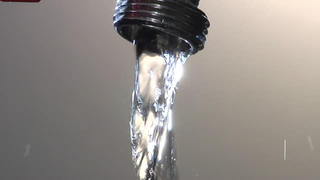 CU, Water running from tap