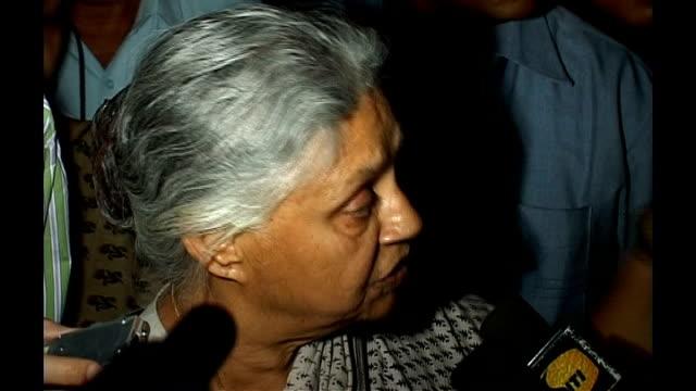 Water shortages following urbanisation Vox pop elderly female Delhi resident