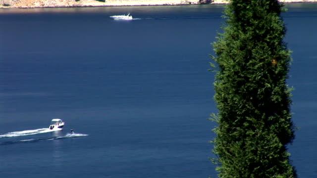 hd :水上スキー - ツレス点の映像素材/bロール