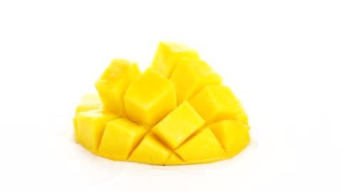 water splash on mango - mango fruit stock videos & royalty-free footage