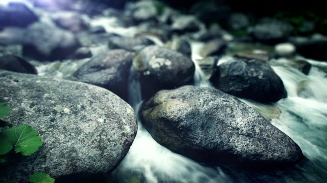 water stream - rock stock videos & royalty-free footage