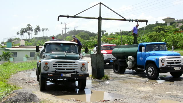water supply remains a challenge in the cuban city the underground water supply system is in its great majority very old and broken causing lack of... - liquid solution stock videos and b-roll footage
