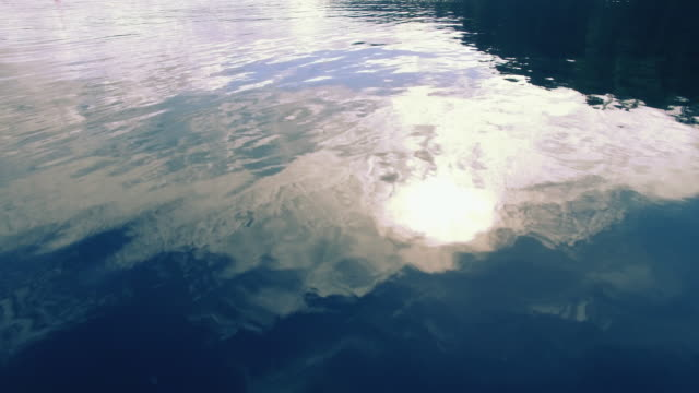 water surface flyover - close to stock videos & royalty-free footage