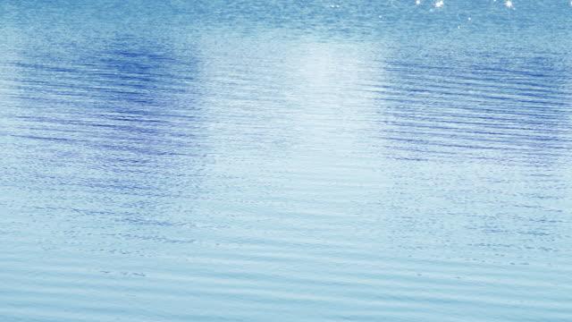 Wasser-Oberfläche im Sonnenlicht