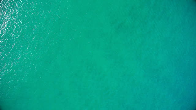 water surface of pacific ocean - turquoise colored stock videos & royalty-free footage