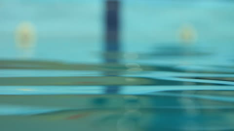 water surface with a reflection of swimming pool - length stock videos & royalty-free footage