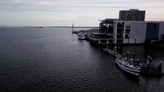 water taxi in charleston south carolina - water taxi stock videos & royalty-free footage
