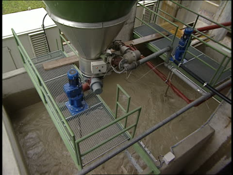 cu water treatment plant - sewage treatment plant stock videos & royalty-free footage
