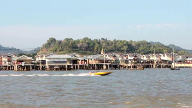water village in brunei - brunei stock videos & royalty-free footage