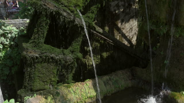 water wheel in city l'isle-sur-la-sorgue - water wheel stock videos and b-roll footage