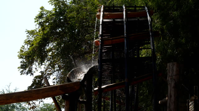 water wheel turbine - water wheel stock videos & royalty-free footage