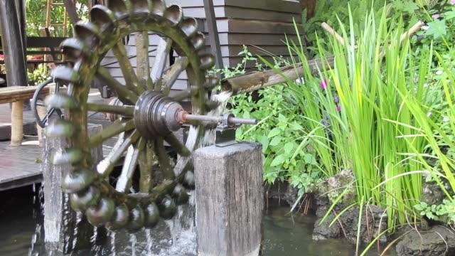 water wheel - machinery stock videos & royalty-free footage