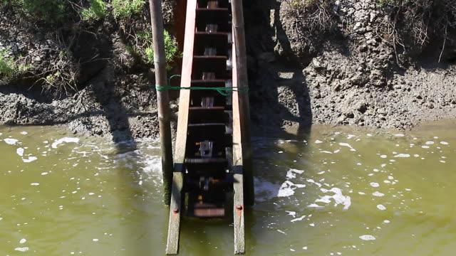 water wheel - water wheel stock videos & royalty-free footage